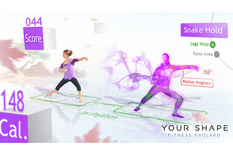 Amazon.com: Your Shape Fitness Evolved - Xbox 360: Video Games