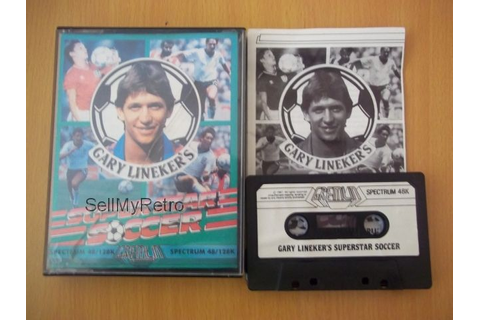 Sinclair ZX Spectrum - Gary Lineker's Superstar Soccer in ...