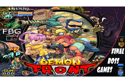 Demon Front All Bosses | Video Games