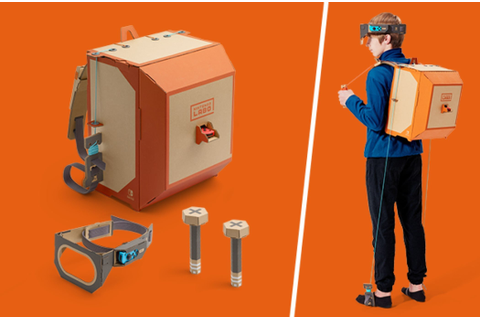 Nintendo Labo Lets You Build Interactive Toys and Gadgets ...