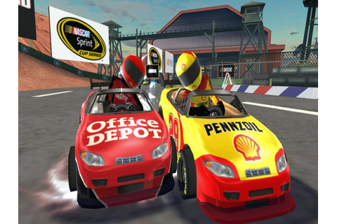 NASCAR Kart Racing Review (Wii) | Nintendo Life