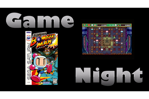Saturn Bomberman - Sega Saturn - Game Night - KWKBOX - YouTube