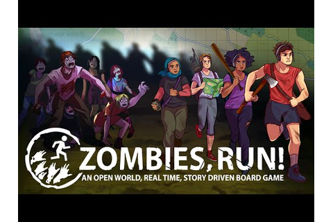Zombies, Run! The Board Game - Kickstarter Trailer - YouTube
