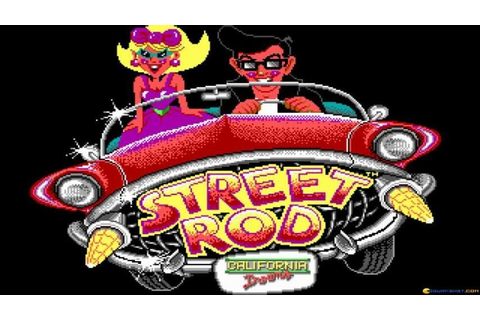 Street Rod gameplay (PC Game, 1989) - YouTube