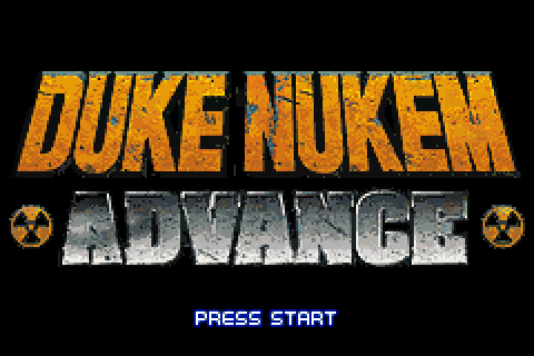 Duke Nukem Advance (2002) by Torus Games GBA game