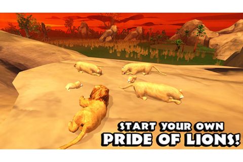 Lion Simulator -By Gluten Free Games -Compatible with iPad ...
