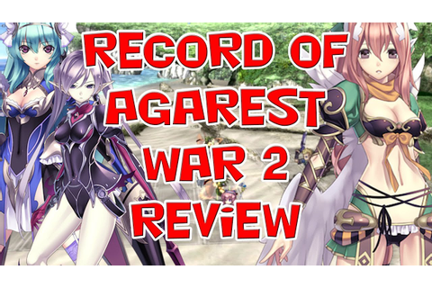 Agarest Generations of War 2 Review (PC,PS3) - YouTube