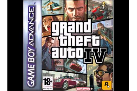GBA Grand theft auto IV Fake Cover - YouTube