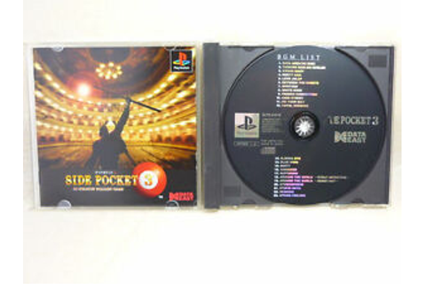 SIDE POCKET 3 3D Polygon PS1 Playstation PS Japan Import ...