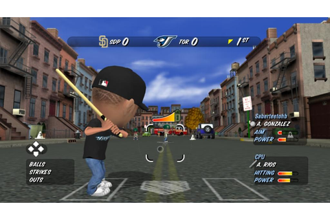 MLB Stickball Coming to XBLA This Wednesday - Gematsu