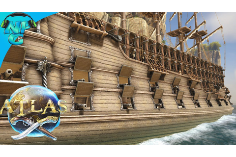 ATLAS - Ultimate Galleon Design! The Twin Terrors of the ...