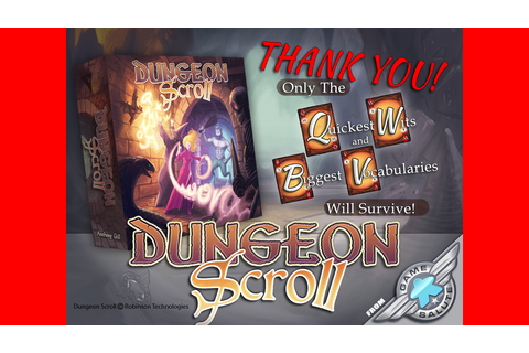 Dungeon Scroll by Game Salute —Kickstarter