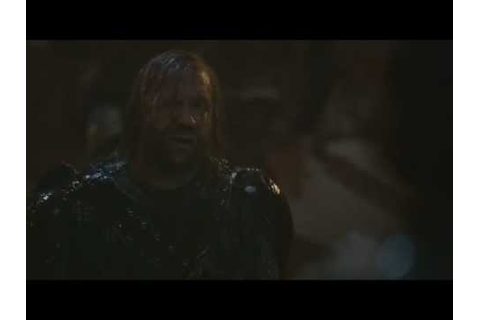 Game Of Thrones - Blackwater- The Hound - YouTube