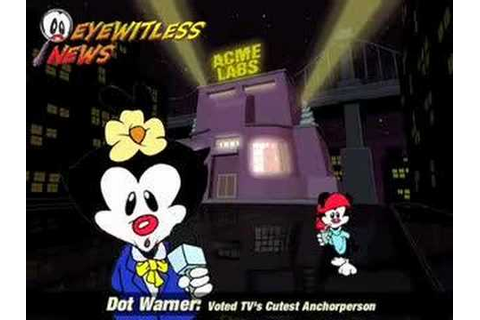 Animaniacs Game Pack Clips - YouTube