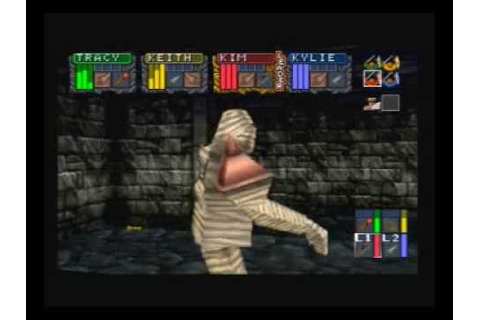 Dungeon Master Nexus - Sega Saturn - YouTube