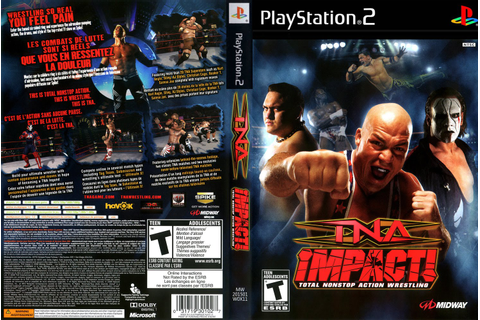 GAME PS2: TNA IMPACT