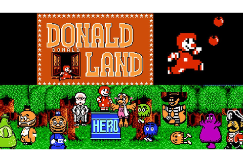 Donald Land 麦当劳世界 ドナルドランド Longplay FC/NES GAME 一命通关 - YouTube