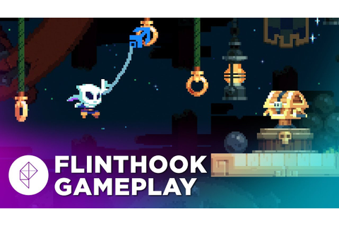 Exclusive First Gameplay: FLINTHOOK — a Grappling Hook ...