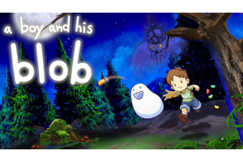 A Boy and His Blob Gameplay [PC] - YouTube