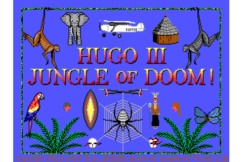 The Adventure Gamer: Game 76: Hugo III: Jungle of Doom ...