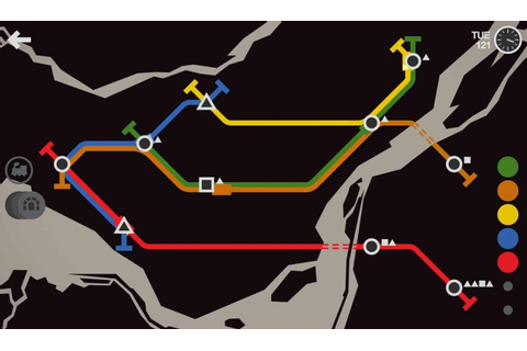 Mini Metro Is A Really Fun Subway Simulator / Puzzle Game