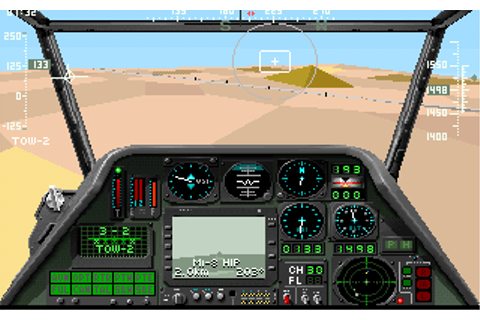 Gunship 2000 | Old DOS Games | Download for Free or play ...