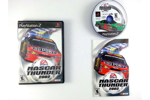 NASCAR Thunder 2002 game for Playstation 2 (Complete ...