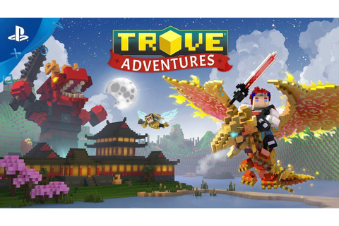Trove – Adventures Launch Trailer | PS4 - YouTube