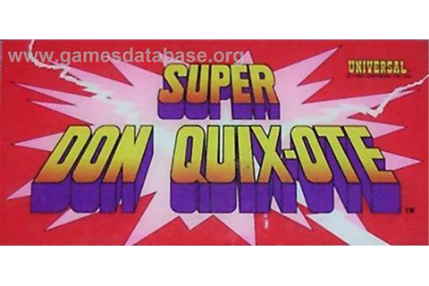 Super Don Quix-Ote - Laserdisc - Games Database