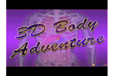 3D Body Adventure gameplay (PC Game, 1994) - YouTube