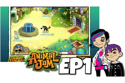 Animal Jam - Audrey Game Play EP1 - YouTube