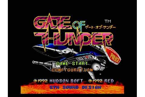 CPN: Gate of Thunder [PC Engine CD] - YouTube