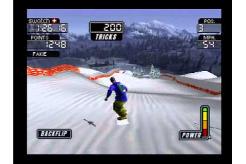 Cool Boarders 3 Demo [PSX] - YouTube