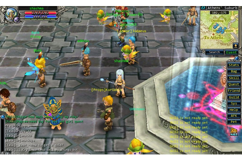 Game news, reviews, cheats, fun: GodsWar Online