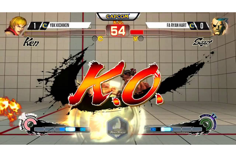 USFIV: TOP 5 MOMENTS - Kuwait KO Fighting Game Festival ...