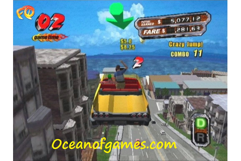 Crazy Taxi 3 Free Download - Ocean Of Games