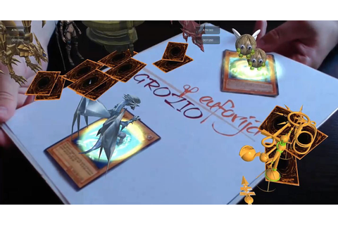 Augmented Reality for Yu-Gi-Oh! Card Game