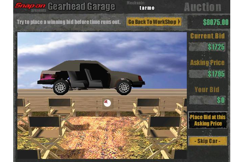 Gearhead Garage Download (2000 Simulation Game)