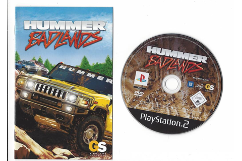 Hummer Badlands for Playstation 2 PS2 - worldwide shipping ...