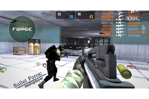 Bullet Force Multiplayer | Play the Game for Free on PacoGames