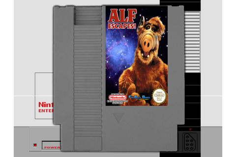 IN STOCK Alf Escapes Nintendo NES 8-bit FanBrew