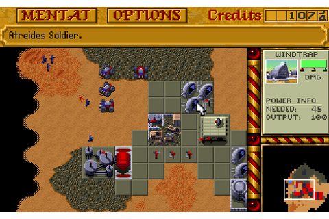 Dune II: The Battle for Arrakis (1992) by Westwood Studios ...