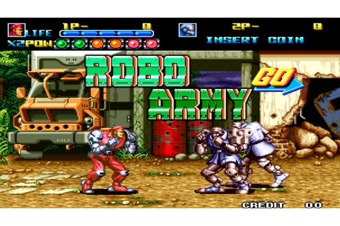 ROBO ARMY [ NEO GEO ] - YouTube