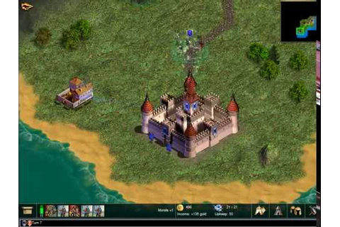 Warlords 4: Heroes of Etheria (2003) gameplay - YouTube