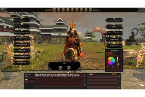 Download Free Shogun Total War II Games - PC Game