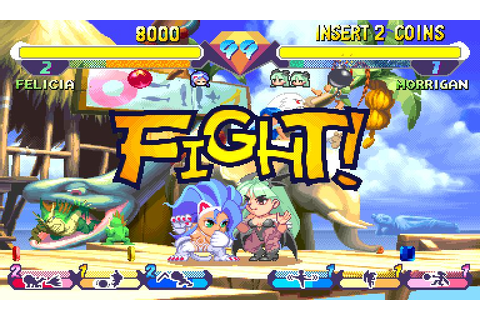 Super Gem Fighter Mini Mix (1997) by Capcom Arcade game