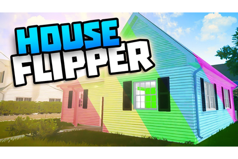 PAINTING AND SMASHING DOWN WALLS - House Flipper Game ...
