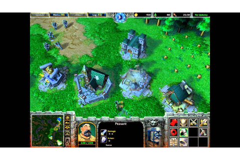 Warcraft III Reign of Chaos Gameplay (Part I) - YouTube