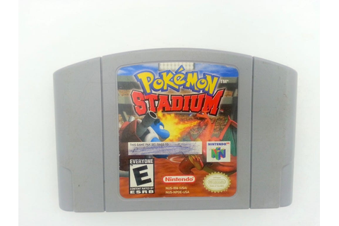 Pokemon Stadium game for Nintendo 64 N64 - Loose ...