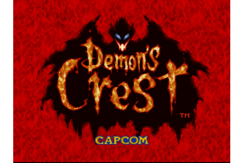 Demon's Crest Screenshots | GameFabrique
